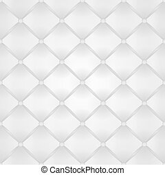 Seamless Buttoned Leather Background