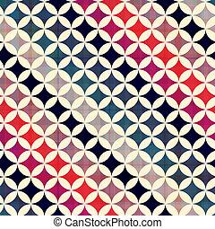 seamless, círculos, fundo, textura