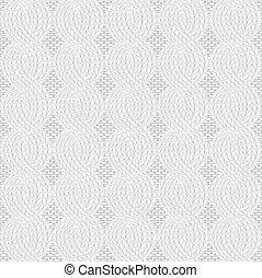 knit white pattern