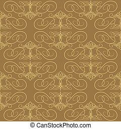 Seamless calligraphical pattern