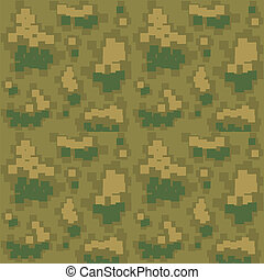 Seamless camouflage pattern. Vector illustration