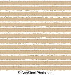 Seamless Cardboard Paper Stripes Ba - Seamless stripes...