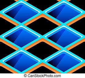 Seamless cells pattern
