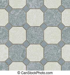 seamless ceramic tile kitchen floor