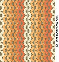 Seamless chain grange pattern