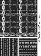 Seamless chain pattern.