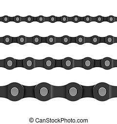 Seamless chain vector illustration