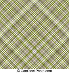 Seamless checkered diagonal pattern - Seamless grey-green...
