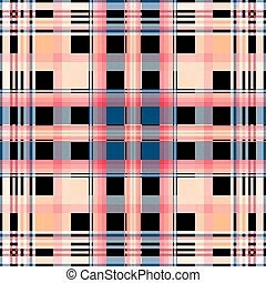Seamless checkered pattern