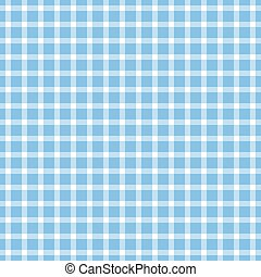 seamless checkered table cloth pattern - seamless blue ...