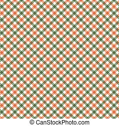 seamless checkered table cloth pattern - seamless green and ...