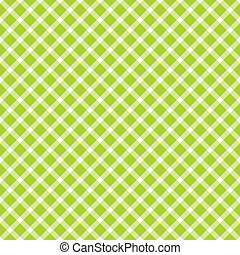 seamless checkered table cloth pattern - seamless green ...