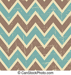 Seamless Chevron Pattern - Seamless chevron pattern in blue...