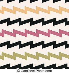 seamless chevron zig zag pattern