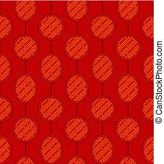 Seamless Chinese Pattern Background