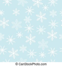 Seamless christmas background with snowflakes