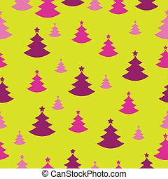 Seamless Christmas decoration present paper