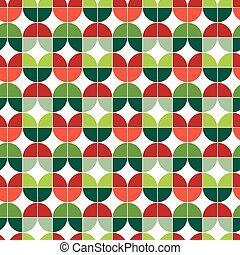 Seamless Christmas gift wrapping paper pattern. Christmas...