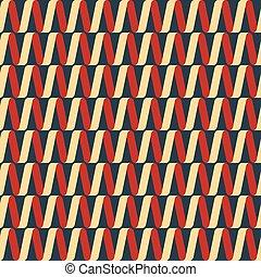 Seamless Christmas ribbon pattern