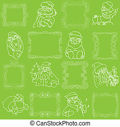 Seamless Christmas Wallpaper Pattern
