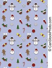 Seamless Christmas Wrapping