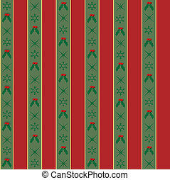 Seamless Christmas Wrapping Paper Background
