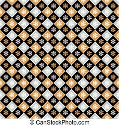 Seamless Christmas wrapping paper pattern. Christmas...