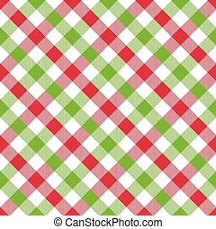 Seamless Christmas wrapping paper pattern. Festive Christmas...