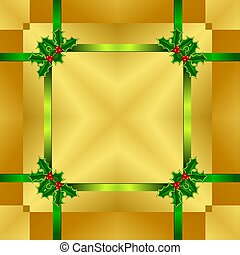 Seamless Christmas Wrapping Pattern