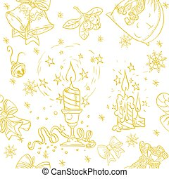 Seamless Christmass background