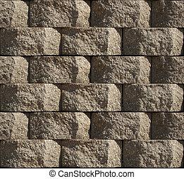 Seamless Cinder Block - Seamless pattern of stacked Cinder ...