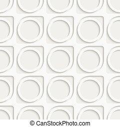 Seamless Circle and Ring Pattern. Soft Background. Regular ...