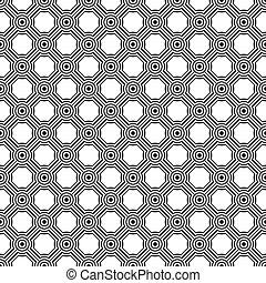 Seamless Circle link pattern