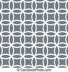seamless circle mesh pattern