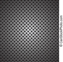 seamless circle perforated carbon speaker grill texture vector i