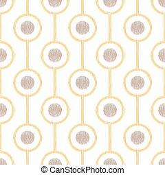 seamless circle ring mesh pattern