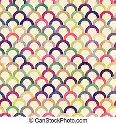 seamless circular abstract pattern