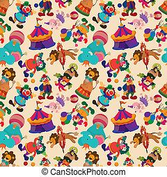 seamless circus pattern  - seamless circus pattern