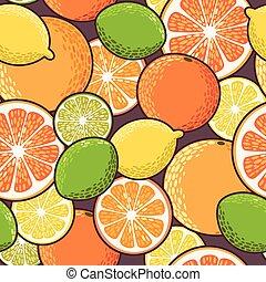 Seamless citrus