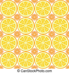 seamless citrus pattern