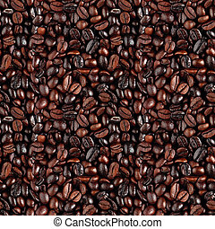 seamless coffe background - seamless background with a...