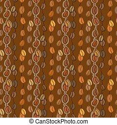 Seamless coffee texture