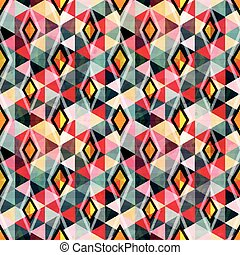 seamless color abstract geometric background for your design