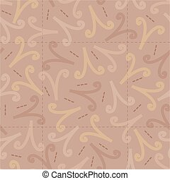 seamless colorful abstract confetti pattern background