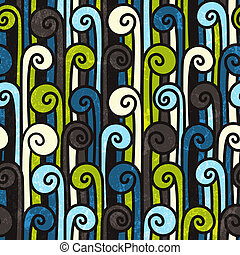Seamless colorful abstract pattern.