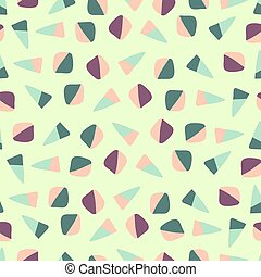 seamless colorful dessert pattern background