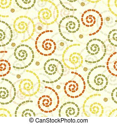 seamless colorful glitter vortex with gold dot glitter pattern background