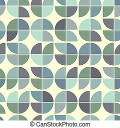 Seamless colorful mosaic, vector background.