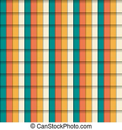 Seamless colorful pattern in vintag
