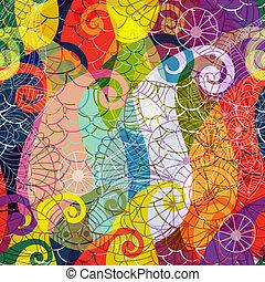 Seamless colorful pattern